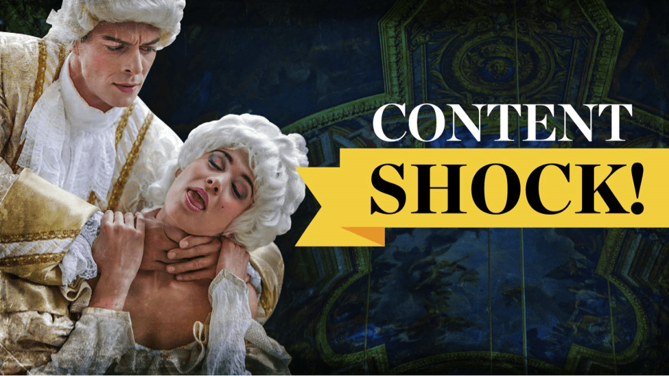 Content Shock: Why Earned Media (Not Quality Content) Will Save Content Marketing