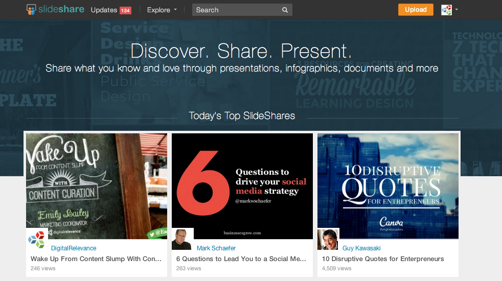 SlideShare-top-presentation-of-the-day