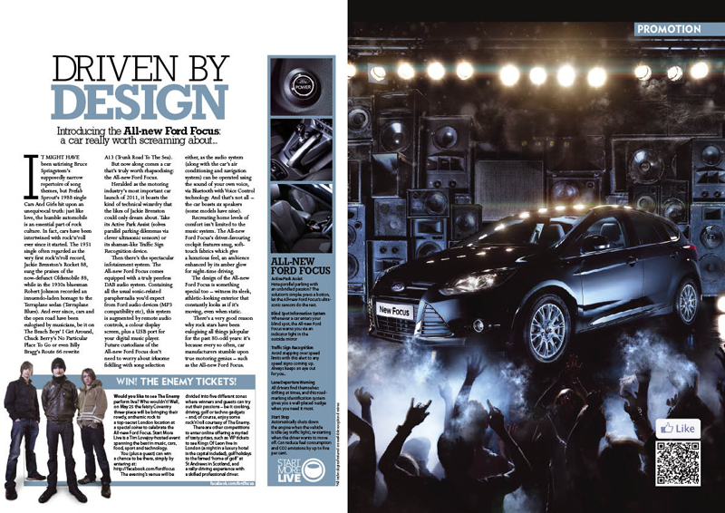 An advertorial by Ford