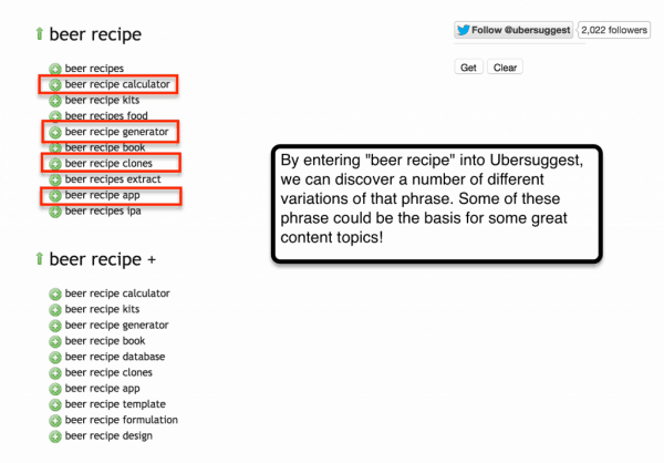 ubersuggest-beer-recipe