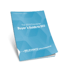 2018 Enterprise Buyer's Guide to SEO