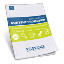 Quick Guide Content Promotion