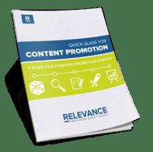 Quick Guide Content Promotion