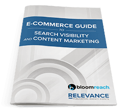E-commerce Guide to Search Visibility & Content Marketing