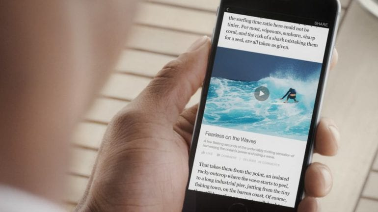 Facebook Invites Publishers for Instant Articles Consideration