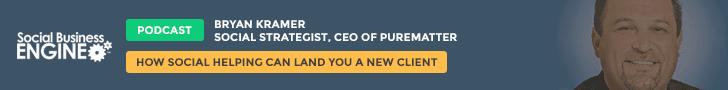 Brayn Kramer & The Social Onramp: Building Online Relationships that Lead to Sales