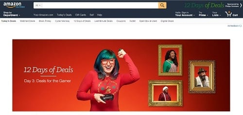 amazon gift targeting