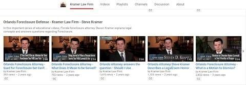 kramer law youtube