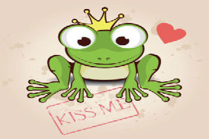 Why kissing frogs is soooo important … A cliché revisited
