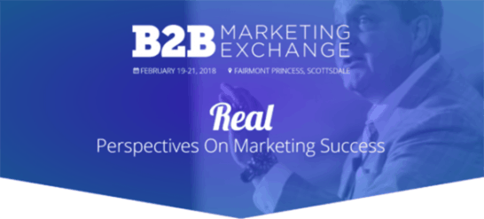 B2B Marketing Exchange – B2B Marketing & Sales Event