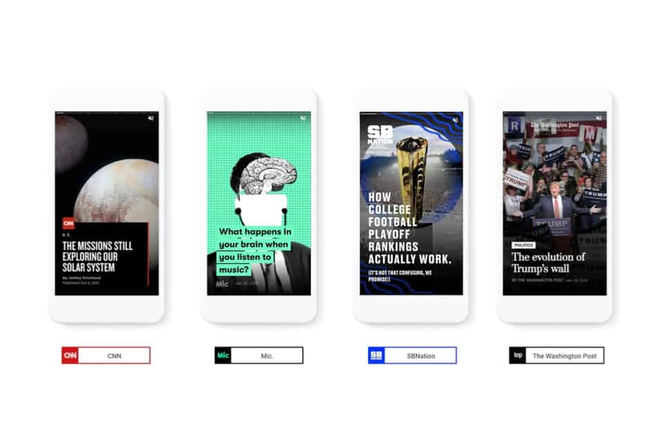 Google Launches AMP Stories