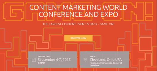 Content Marketing WorldCleveland, USA