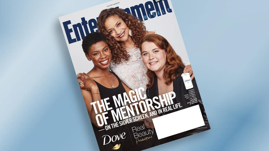 Dove, Entertainment Weekly Join Forces on VR Enabled Magazine Cover