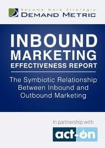 Inbound Marketing Effectiveness Report