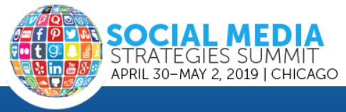 Social Media Strategies Summit – Chicago 2019